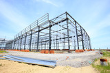 The steel structure - 166155253