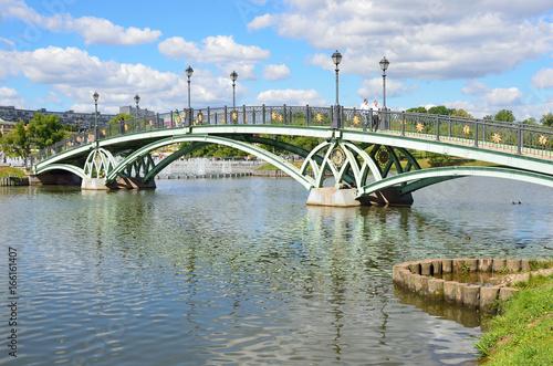 Москва, Царицыно. Мост через Средний Царицынский пруд