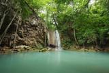Level 3 of Erawan Waterfall in Kanchanaburi, Thailand