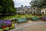 Canterbury museum next to botanical gardens, Christchurch, New Zealand - 166179045