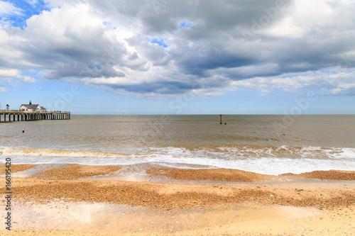 Aluminium Schipbreuk Southwold Beach and Pier