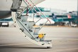 Steps to the plane - 166211674