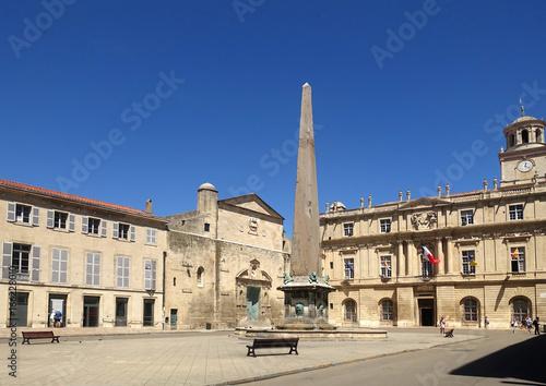 Staande foto Beige à Arles