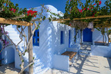 Traditional greek house in Cyclades, Greece - 166256411