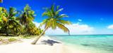 Schöner Strand im Paradies