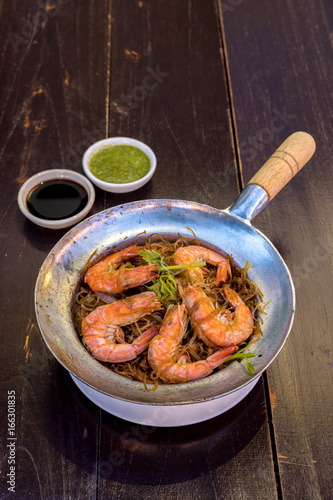 Steamed Shrimp with vermicelli