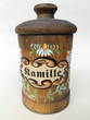 Leinwanddruck Bild - Teedose, Tee, Kamille, Chamomilla recutita; Dose