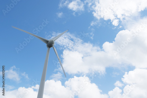 Juliste 風力発電機のプロペラ Wind power generator Renewable energy