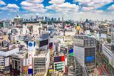 Shibuya, Tokio, Japonia Pejzaż miejski.
