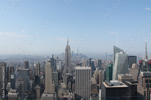 Foto op Aluminium New York Top of the Rocl