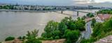 Panoramic cityscape in Novi Sad, Serbia - 166350453