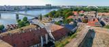 Panoramic cityscape in Novi Sad, Serbia - 166350458
