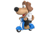Cartoon dog sweet animal character. 3D rendering