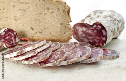 saucisson and bread Poster