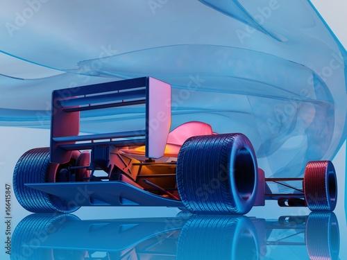 Foto op Plexiglas F1 Racing cars