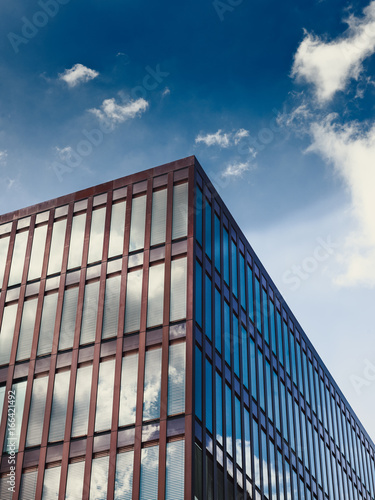 hafencity red building - 166421492