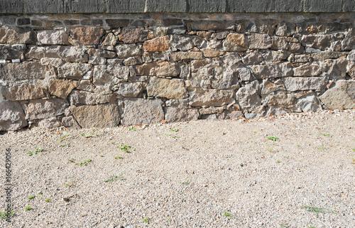Steinmauer Vorlage Hintergurnd Natursteinmauer