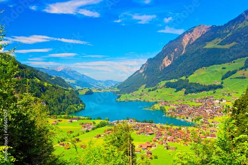 Wunderschöne Landschaft in der Schweiz