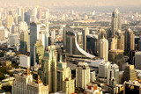 Bangkok city skyline, Thailand.