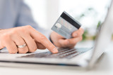 Online payment and shopping concepts. - 166502404