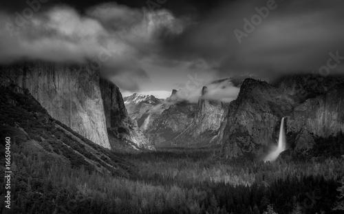 Dramatic Yosemite - 166504060