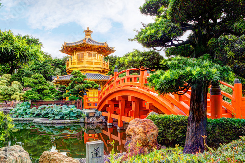 Nan Lian Garden in Diamond Hill, Hong Kong Poster
