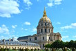 """The great golden dome of the museum complex called """"Les Invalides"""" in Paris, France."""