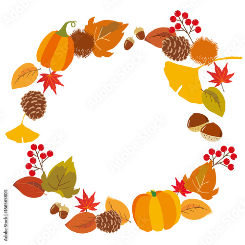 秋イメージ フレーム