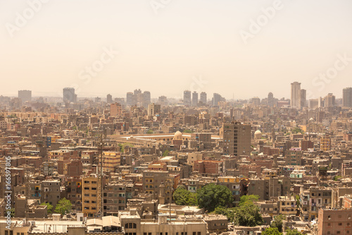 Poster Cityscape of Cairo, Egypt
