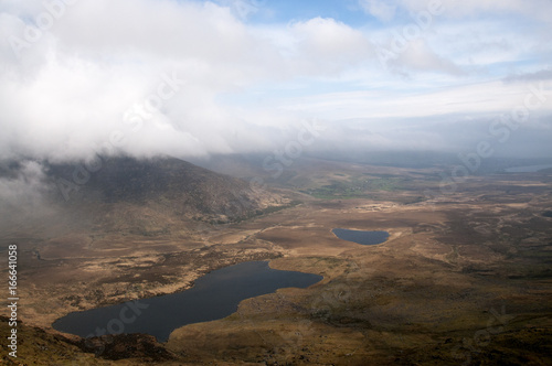 Foto op Canvas Wit View from Connor Pass, Dingle Peninsular