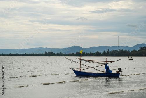 Fishing boat, Hua Hin, Prachuap khiri khan, Thailand