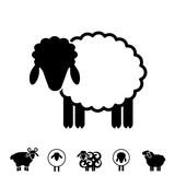 Sheep or Ram Icon, Logo, Template, Pictogram - 166671844