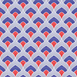 Abstract color seamless pattern - 166679085