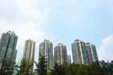 Buildings in Tai Po Hong Kong