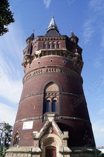 Wasserturm an der Mulde плакат