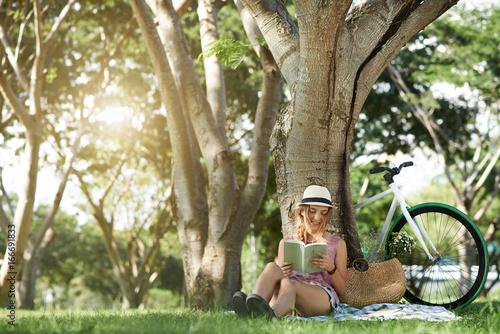 Resting in park - 166691833