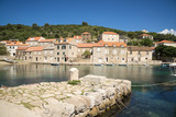 Sudurad is one of the villages of the island of Sipan (off the coast of Dubrovnik in the Adriatic Sea.) - 166721495