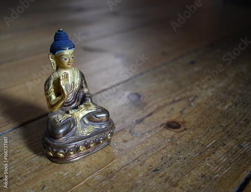 Buddha Amoghasiddhi statue