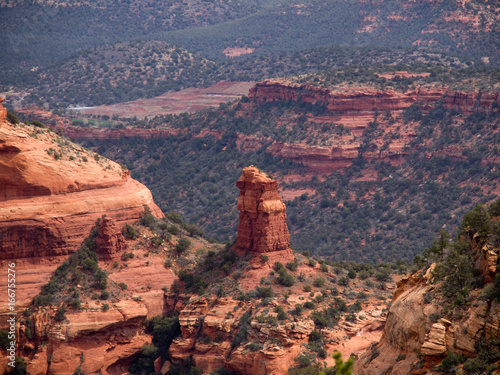 Canyon spire, Sedona, Arizona