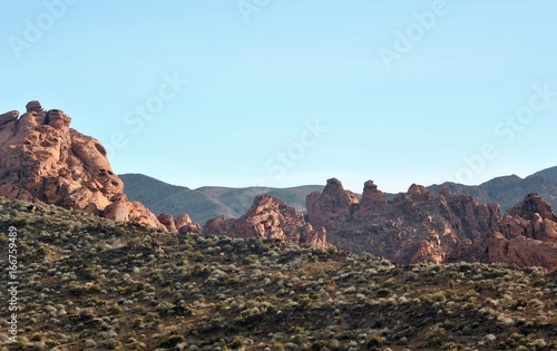 Foto op Canvas Cappuccino Valley of Fire Nevada
