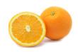 Quadro Isolated oranges fruits