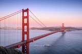 Golden Gate, San Francisco California at sunset