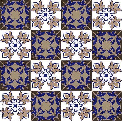 jednolite-wzor-patchworku-z-marokanskiej-portugalskiej-plytek-w-kolorach-niebieskim-i-brazowym-dekoracyjny-ornament-moze-byc-uzywany-do-tapet-tla-tkaniny-tekstyliow-papieru-do-pakowania
