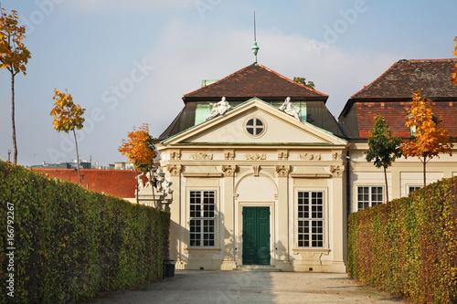 Belvedere Palace complex in Vienna. Austria