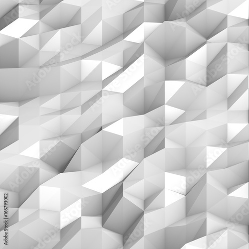 Abstract structure white - 166793002
