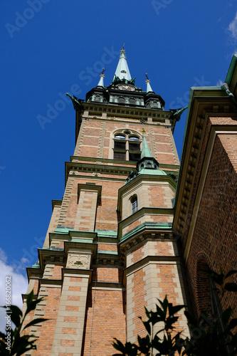 Aluminium Stockholm Stockholm, Sweden - German Church Tyska kyrkan