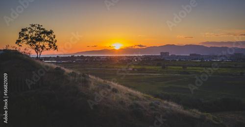 Ballona Wetlands Sunset