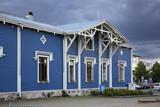 Wiew starego Kuopio. Północna Sawonia. Finlandia