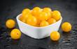 Quadro Portion of Yellow Tomatoes , selective focus
