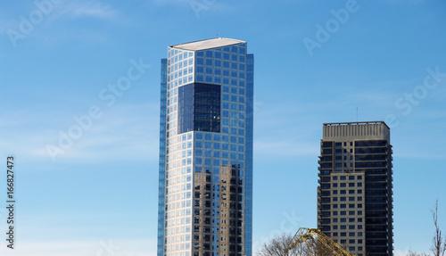Aluminium Buenos Aires Reflet de gratte-ciel
